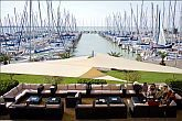 4* Cafe in Balatonkenese in Hotel Marina Port