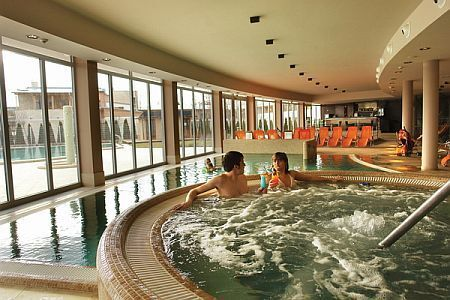 Hotel Silverine Balatonfured 4* Wellness-Center am Plattensee