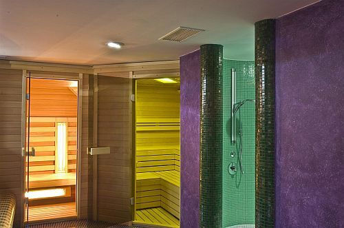 Dampfkabine in wellness Abteilung in Hotel Amira - spa wellness Hotel i Heviz